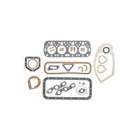 Overhaul Gasket Set with Crankshaft Seals, engines less water pump (Gas: C113), A, AV, B, BN, C, Super A, Super AV