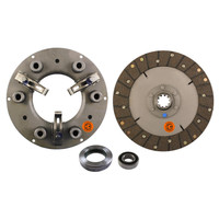 "10"" Complete Clutch Kit with Bearings, IH Farmall: H, HV, W4"