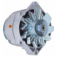 Alternator (12 volt, 105 amp) fits many IH, JD, MF, OL, MM Tractors and Combines