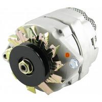Alternator - 12 volt, 72 amp, fits many IH, JD, MF, OL, MM Tractors and Combines