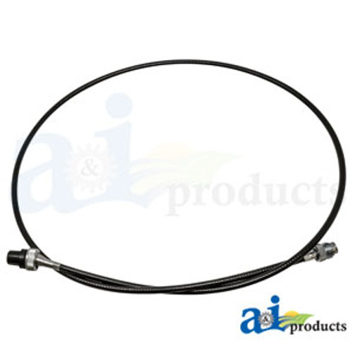"63.25"" Tachometer Cable, IH 274 and 284 (Diesel) - 1061972C1"