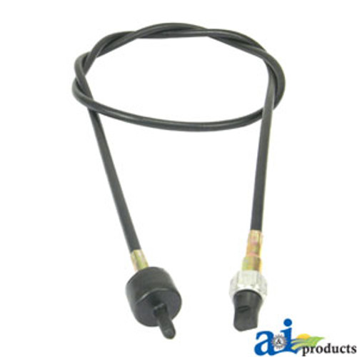 "57.5"" Tachometer Cable, IH 385 484 485 544 574 584 585 656  666 674 684 685 686 706 756 766 784 785 806 826  844 856 885 966 1066 2500A  2706 2756 2806 2826  2856, HYDRO 70, HYDRO 86"
