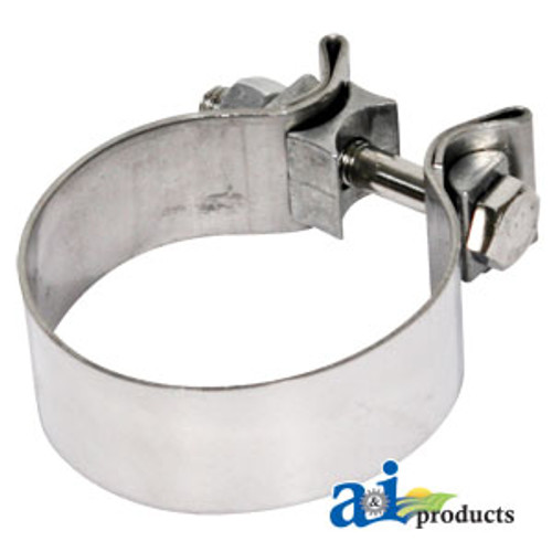 Clamp for Chrome Stacks, Exhaust Clamp (Multiple Sizes)