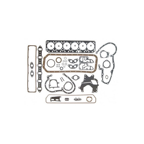Overhaul Gasket Set with Crankshaft Seals (Diesel D236, D282, DT282, D301) 460 560 606 656 660 706 2606 2656 2706 3616 3800 3850