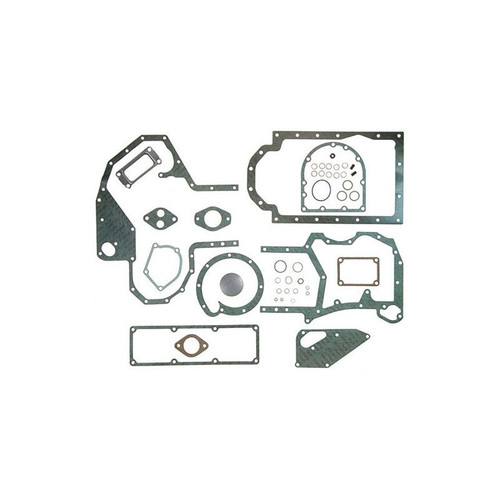 Conversion Gasket Set with Crankshaft Seals (Diesel D155, D179) 385 395 454 464 484 485 495 553 3220 2400A 3400A 380B