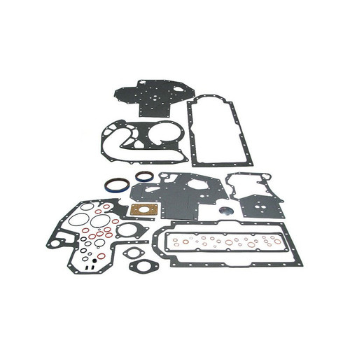 Conversion Gasket Set with Crankshaft Seals (Diesel D206, D239, DT239, D246, D268) 514 544 574 584 585 595 624 654 664 674 684 685 695 784 844 884 885 895 995 2500 2544 3230 3514 4210 4230 4240 2500A 2500B 2505B 2510B 2514B 3500A, Hydro 84