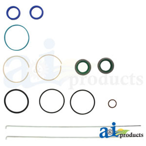 Steering Cylinder Repair Kit, IH 766 786 886 966 986 1066 1086 1466 1468 1486 1566 1568 1586 3088 3288 3488 3688 5088 5288 5488, HYDRO 100, HYDRO 186