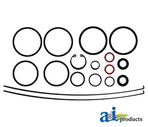 Clutch Booster Seal Kit, IH 786 886 986 1086 1486 1586 3088 3288 3388 3588 3688 3788 6388 6588 6788