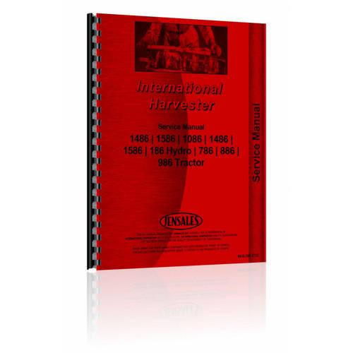 Shop Manual, IH 786 886 986 1086 1486 1586, Hydro 186
