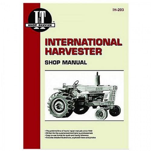 I&T Service Manual, IH 454 464 484 574 584 674 766 786 826 886 966  986 1026 1066 1086 1206 21026 2826