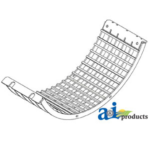 Keystock Grates (Set of 3), Case IH: 1480 1680 1688 2188 2388 2588 5088 6088 7088
