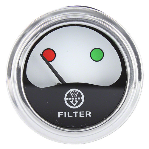 Air Cleaner Change Indicator Gauge, IH