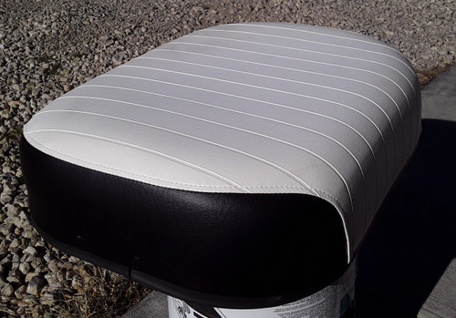 Bottom Seat Cushion, Embossed (undamaged)