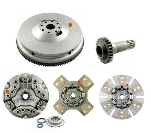 KIT: Flywheel with Ring Gear, PTO Drive Gear, and Clutch Kit: D360 D414 DT414 D436 DT466 (Free shipping)