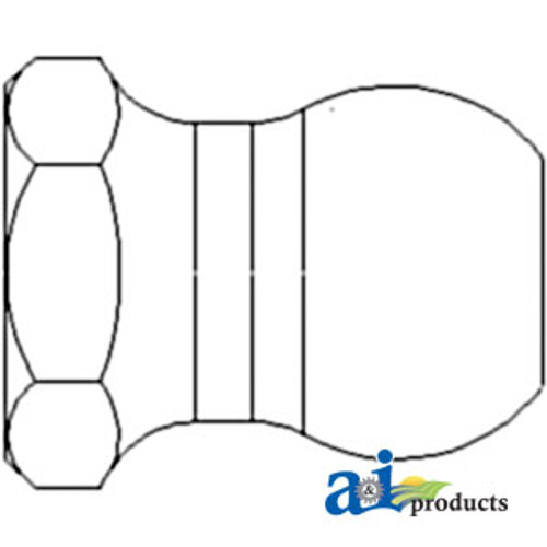 Brake Adjusting Nut, IH 240 330 340 404 460 504 544 560 606 656 660 664 666 686