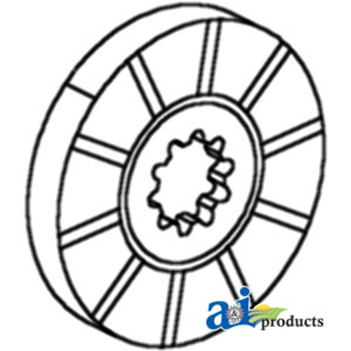 Brake Disc, IH 544 2544