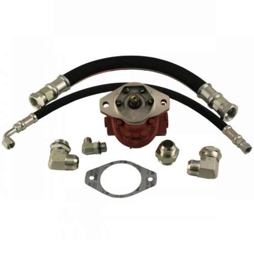 Power Steering Pump Conversion Kit, IH 3388 3588 3788 6388 6588 6788