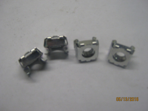 "Cage Nuts for Hood Bolts (Package of 4) 5/16""  x 18  .093"" - .126"""