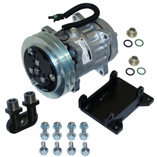 Compressor Conversion Kit, York to Sanden, Direct Mount, IH