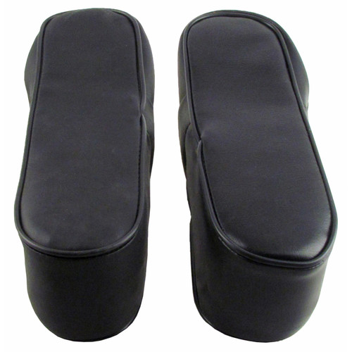 Arm Rest Set, Black Vinyl - 1066   1256   1456   1466   1468   1566   1568   756   766   826   856   966