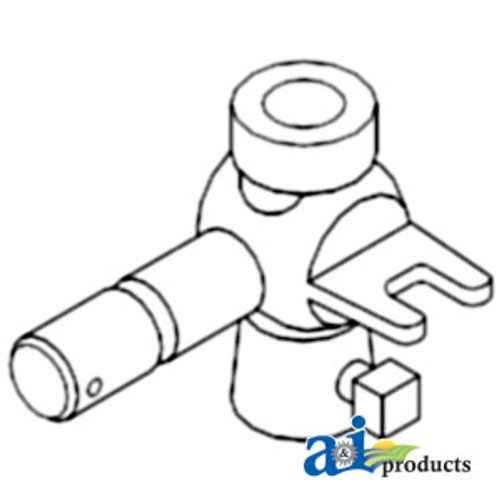 "Duckhead Pivot Assembly, 1"" Screw - IH 100 1026 1066 1206 1256 130 140 1466 1468 1566 1568 2504 404 504 544 606 644 656 664 666 686 706 744 756 766 806 826 844 844S 856 966"