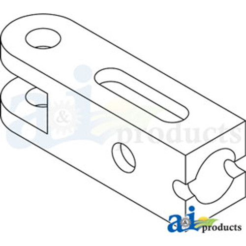 3 Point Stabilizer Rear Yoke, IH 1066  1086  1206  1256  1456  1466  1468  1486  1568  1586  3388  3588  3788