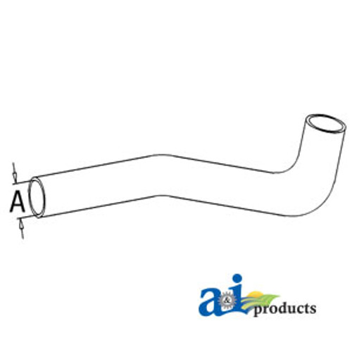 Lower Radiator Hose, IH   666  686  706  706  756  806  826  856  HYDRO 70  Gas