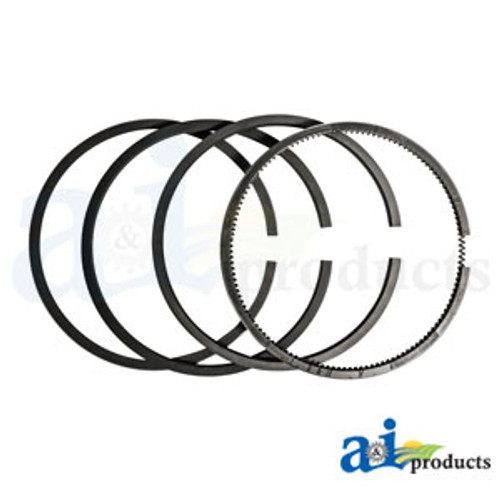 Piston Ring Set, IH, Allis Chalmers, Gleaner (Gas) H HV OS4 O4 W4B15 IB B C CA 60H