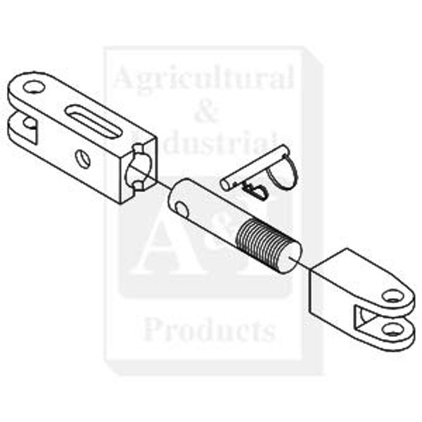 3 Point Hitch Complete Sway Limiter, IH 1066 1086 1206 1256 1456 1466 1468 1486 1566 1568 1586 3388 3588 3788