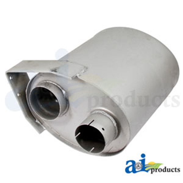 Exhaust Muffler, IH - 1086 1486 1586