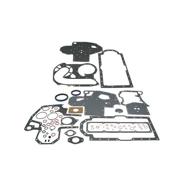 Conversion Gasket Set with Crankshaft Seals (Diesel D206, D239, DT239, D246, D268) 514 544 574 584 585 595 624 654 664 674 684 685 695 784 844 884 885 895 995 2500 2544 3230 3514 4210 4230 4240 2500A 2500B 2505B 2510B 2514B 3500A, Hydro 84