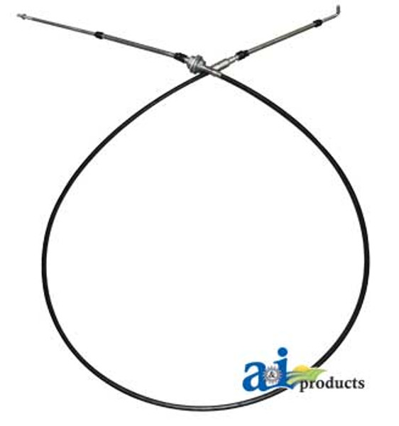 """72.5"""" Throttle Cable, IH 986 1086 1486 1586 3088 3288 3488 3688 5088 5288 5488, HYDRO 186"""