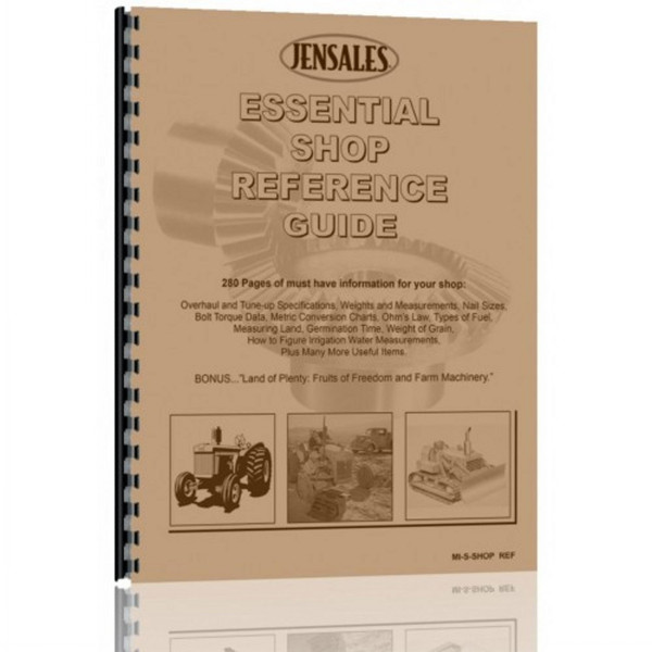 Essential Shop Reference Guide