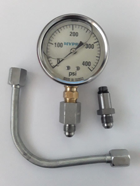 PTO and TA Test Gauge