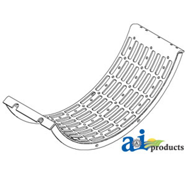 Slotted Grate, Case IH: 1480 1482 1680 1682 1688 2188 2377 2388 2577 2588 5088 6088 7088