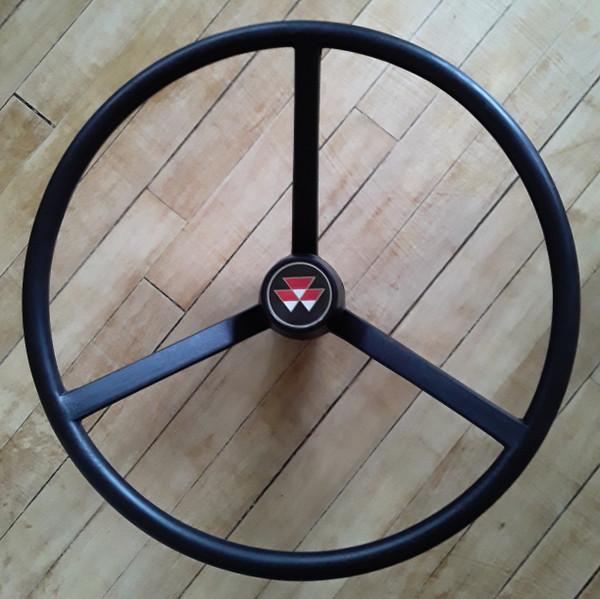 Steering Wheel with cap, Massey Ferguson: 165 168 175 185 188 265S  285S 290 390E 565  575 590