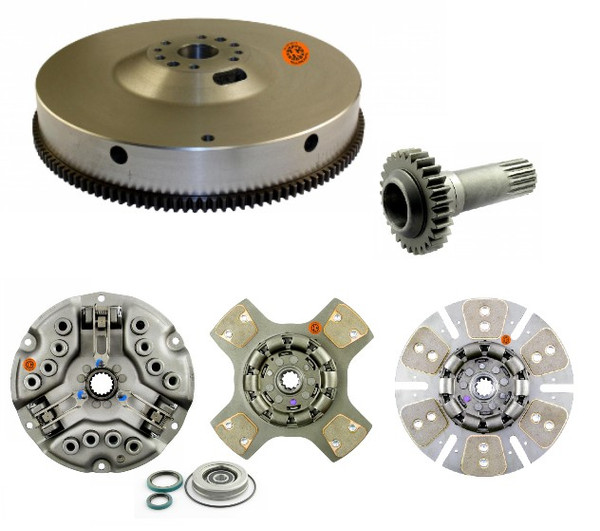 KIT: Flywheel with Ring Gear, PTO Drive Gear, and Clutch Kit: D361 and D407 (Free shipping)