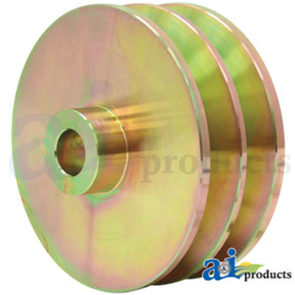Double Groove Alternator Pulley, IH 766 786 966 986 1066 1086 1466 1468 1486 1566 1568 1586