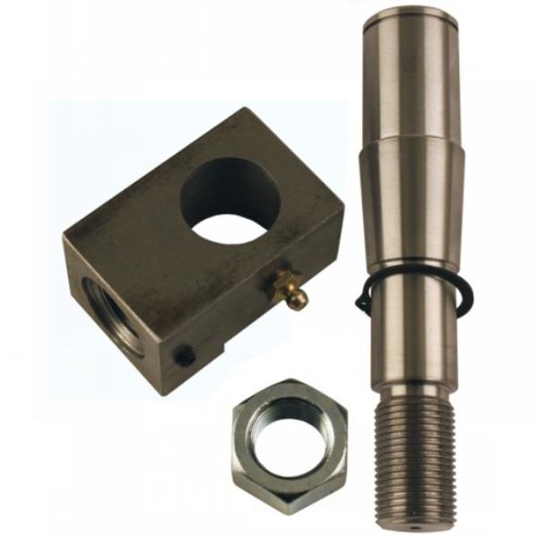 Power Steering Cylinder Pin & Block Kit, IH 66 Series