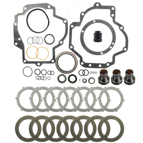 PTO Overhaul Kit with Brakes, IH 786 886 986 1086 1486 1566 1568 1586