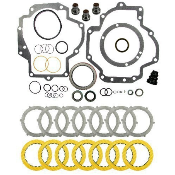 IPTO Gasket Kit & Heavy Duty Clutch Pack with Brakes, Case IH
