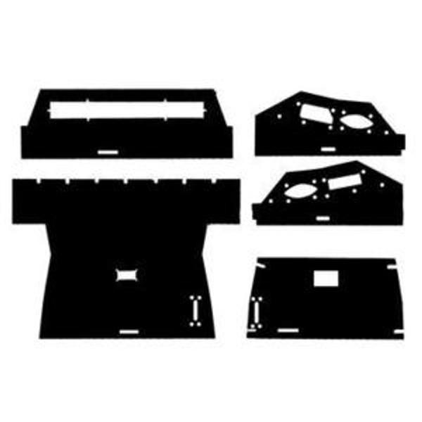 Cab Upholstery Headliner Kit, IH 886 986 1086 1486 1586 3088 3288 3388 3488 3588 3788 5088 5288 5488 6388 6588 6788 7288 7488, Hydro 186