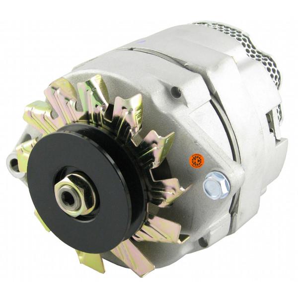 Alternator Fits (12 volt, 72 amp) fits many IH, JD, MF, OL, MM Tractors and Combines