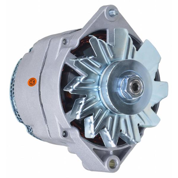 Alternator (12 volt, 105 amp) fits many IH, JD, MF, OL, MM Tractors and Combines