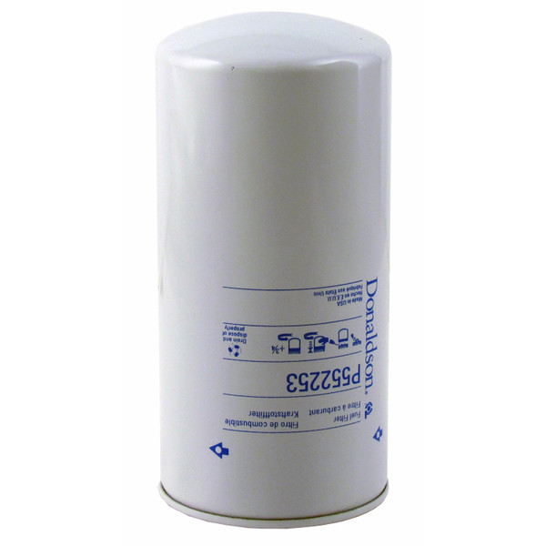 Fuel Filter, Secondary, Spin-On, P552253  --  1026  1256  1456  460  606  856