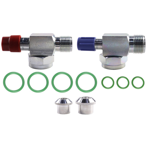 Shut Off Valve Replacement Kit, Rotolock, R134A - IH 786 886 986 1086 1486 1586