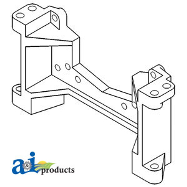 Drawbar Support Casting - IH  706 756 766 806 826 856 966 1026