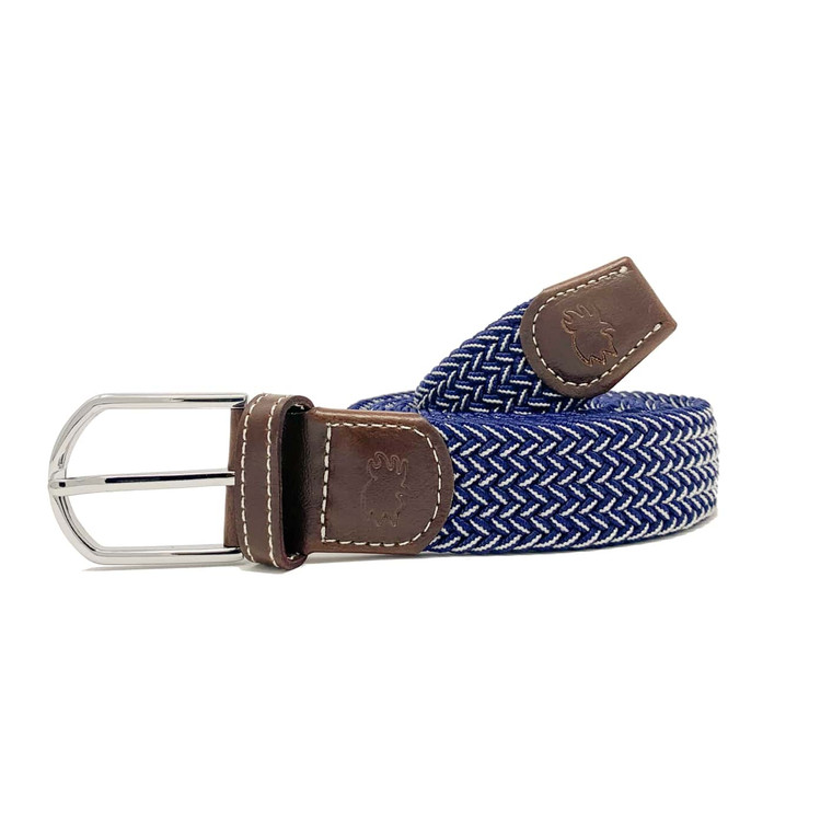 The Ponte Vedra Two Toned Woven Elastic Stretch Belt