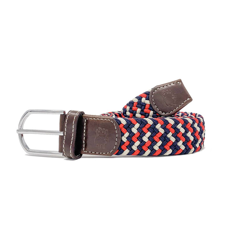 The Oxford Two Toned Woven Elastic Stretch Belt