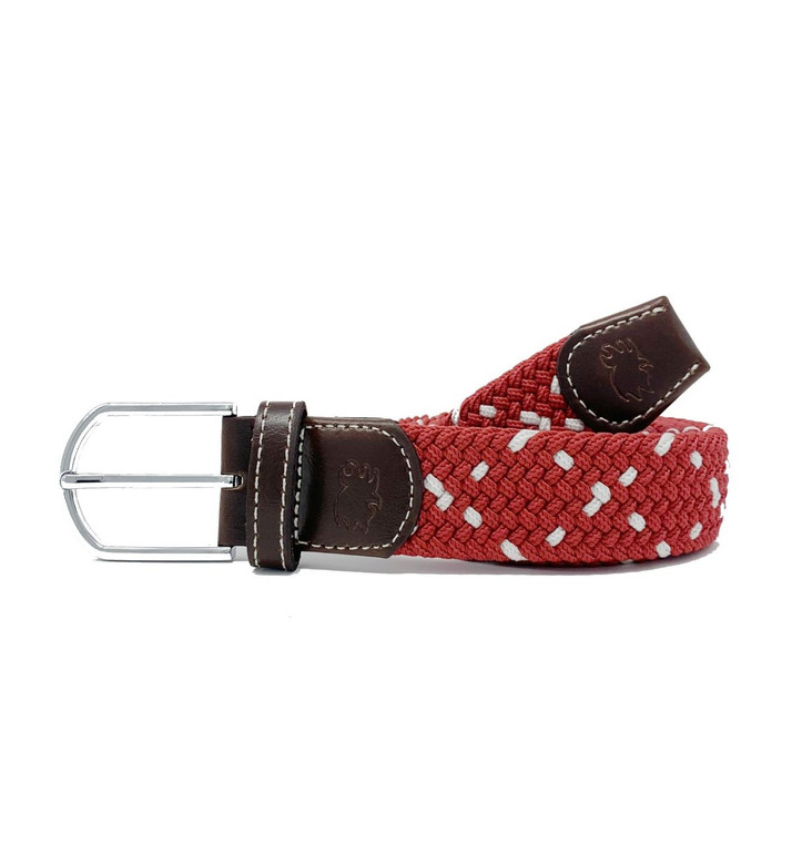 The Savannah Two Toned Woven Elastic Stretch Belt